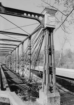 Bollman Truss Bridge. (HAER, MD,14-SAV,1-;DLC/PP-99:MD-215)