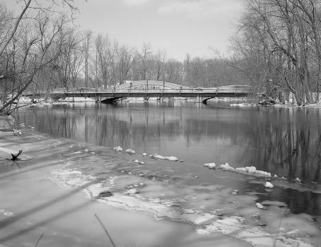 East Michigan Avenue Bridge, Galesburg, Michigan, USA (HAER, MICH,39-GALES.V,1-2)