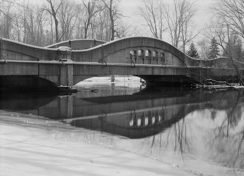 East Michigan Avenue Bridge, Galesburg, Michigan, USA (HAER, MICH,39-GALES.V,1-11)