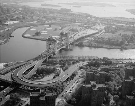 Triborough Bridge Harlem River Lift Span, New York City (HAER, NY,41-QUE,2-25)