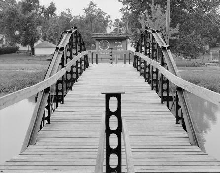 Blackhoof Street Bridge, New Bremen, Ohio (HAER, OHIO,6-NEWBR,1-1)