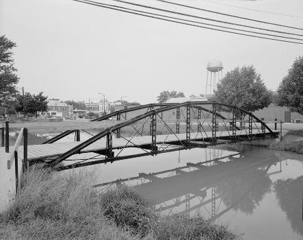Blackhoof Street Bridge, New Bremen, Ohio (HAER, OHIO,6-NEWBR,1-2)