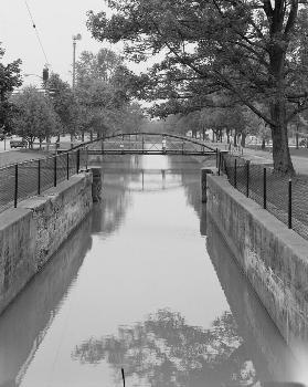 Blackhoof Street Bridge, New Bremen, Ohio (HAER, OHIO,6-NEWBR,1-5)