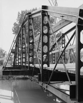 Blackhoof Street Bridge, New Bremen, Ohio (HAER, OHIO,6-NEWBR,1-6)