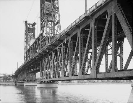 Steel Bridge, Portland, Oregon. (HAER, ORE,26-PORT,14-11)