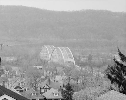 Corapolis Bridge, Corapolis, Pennsylvania. (HAER, PA,2-CORA,1-1)