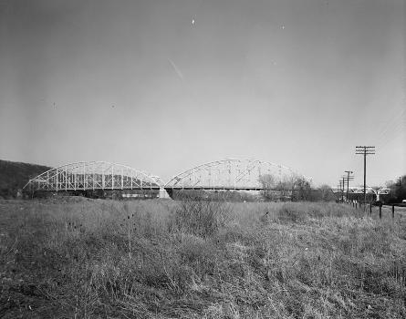 Corapolis Bridge, Corapolis, Pennsylvania. (HAER, PA,2-CORA,1-2)