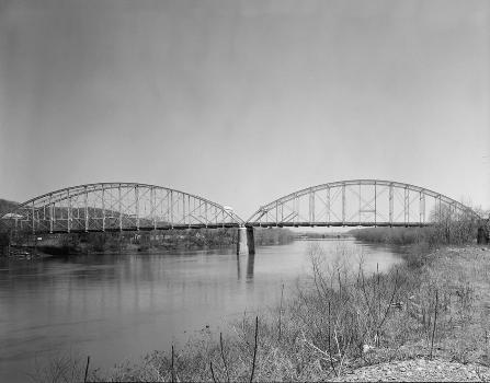 Corapolis Bridge, Corapolis, Pennsylvania. (HAER, PA,2-CORA,1-3)