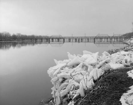 Walnut Street Bridge, Harrisburg, Pennsylvania. (HAER, PA,22-HARBU,25-4)