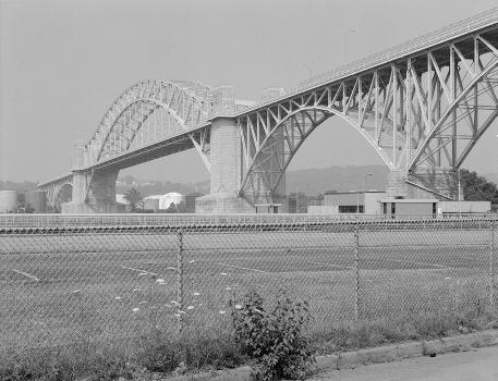 McKees Rocks Bridge, Pittsburgh, Pennsylvania. (HAER, PA,2-MCKRO,2-1)