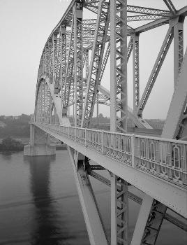 McKees Rocks Bridge, Pittsburgh, Pennsylvania. (HAER, PA,2-MCKRO,2-13)