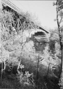 Schenley Park Bridge over Panther Hollow. (HAER, PA,2-PITBU,77-1)