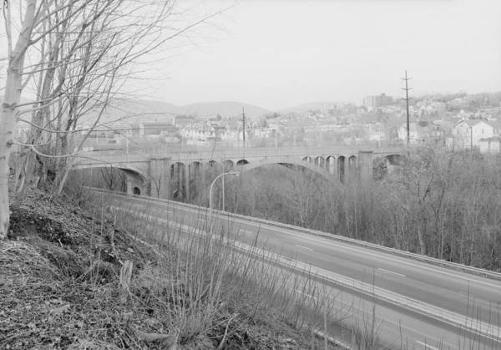 Harrison Avenue Bridge, Scranton, Pennsylvania (HAER, PA,35-SCRAN,7-1)