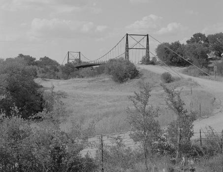 Regency Suspension Bridge (HAER TX,167-GOLD.V,1-1)