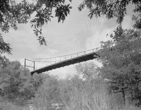 Regency Suspension Bridge (HAER TX,167-GOLD.V,1-6)
