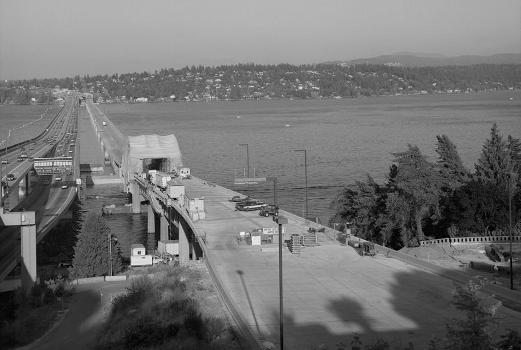 Lacey V. Murrow Memorial Floating Bridge, Seattle, Washington. (HAER, WASH,17-SEAT,13-1)