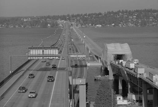 Lacey V. Murrow Memorial Floating Bridge, Seattle, Washington. (HAER, WASH,17-SEAT,13-2)