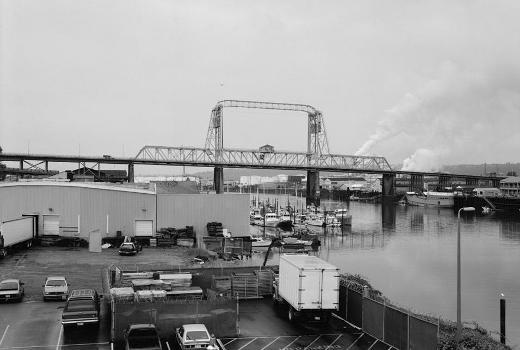 City Waterway Bridge, Tacoma, Washington, USA (HAER, WASH,27-TACO,9-1)