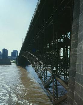 Eads Bridge, Saint Louis  (HAER, MO,96-SALU,77-39)