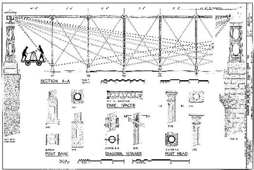 HAER WVA,19-HARF,28- (sheet 3 of 6) - Baltimore & Ohio Railroad, Bollman Bridge, Spanning Potomac River at Harpers Ferry, Harpers Ferry, Jefferson County, WV