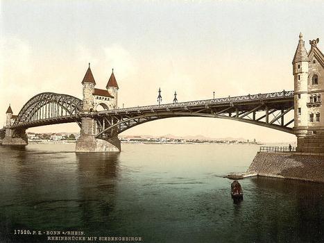 Rhine Bridge, Bonn.