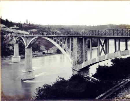 Le pont terminé en 1907
