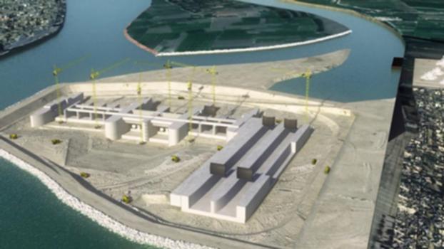 قناطر أسيوط الجديدة | New Assiut Barrage :