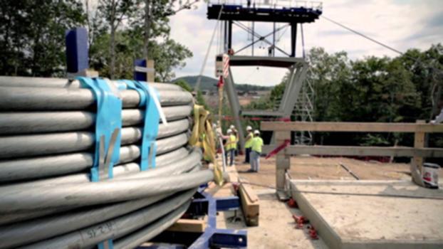 Consol Energy Wing Tip Bridge