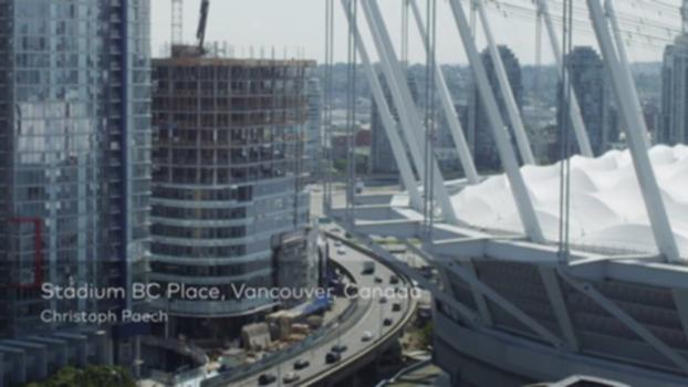 Stadium BC Place, Vancouver, Canada : The Stadium BC Place is a landmark in size, location, and cultural importance. The State-of-the-Art retractable inner roof requires only twenty minutes for opening or closing itself, transforming the stadium into a modern multi-functional venue. Christoph Paech talks us through each decision and motivation behind this project. For more information on this project please visit: www.moveables.sbp.de