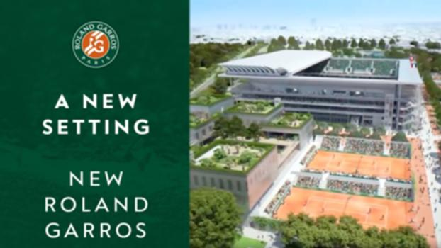 A new setting for a legendary tournament | New Roland Garros:A new setting for a legendary tournament | New Roland Garros. Discover all the construction steps between 2018 and 2021.   Visit Roland Garros' official website: http://rg.fr/RGweb  Subscribe to our channel: http://rg.fr/ytrgin  Follow us! Facebook: http://rg.fr/FBRolGa Twitter: http://rg.fr/Twrolg Instagram: http://rg.fr/instRG  This is the official YouTube Channel of Roland Garros, home of the French Open. The tournament 2018 will run from 21 May - 10 June.