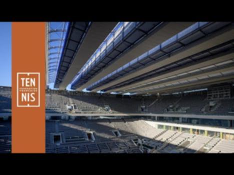 Le toit du court Philippe-Chatrier est prêt : Découvrez le nouveau toit du court Central de Roland-Garros.