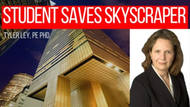 Student Saves Skyscraper | Diane Hartley Citicorp Center Interview : Diane Hartley asked a critical question about the design of the Citicorp Center skyscraper in New York City that caused the design engineer to realize that they had made a mistake. The building was already occupied and immediately went under secret repairs to restore the capacity. This is an amazing story that is used in many classes to teach about engineering ethics, design, and the importance of asking questions. In this video we get to hear Diane's version of the story and how she learned about the repairs and how her work contributed to saving this important structure. This is truly an amazing story and it is awesome that we get to hear it from the person that lived it. I have another video about this story here: Citicorp Center – A skyscraper saved by a student's question https://www.youtube.com/watch?v=Bv2YQnT6pSo Diane was inspired by her professor Dr. David Billington. You can learn more from these books by David Billington – Tower and the Bridge (my favorite)–  https://amzn.to/2Y2i5RM Innovators (great engineering stories)–  https://amzn.to/2Y67bu5 Felix Candela –  https://amzn.to/2suNu3q Robert Mailart –  https://amzn.to/2Dym7HU These are Amazon affiliate links. My website is:  http://www.tylerley.com If you would like to donate to my channel please visit  http://www.tylerley.com/giving A huge thanks to Hailey Goodale, my director of awesome, for editing this video.