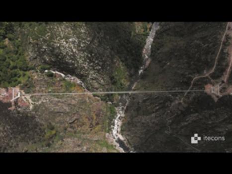 Itecons | Ponte Pedonal Suspensa - Arouca 516