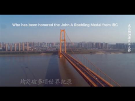 Yangsigang Yangtze River Bridge : Yangsigang Yangtze River Bridge,Wuhan L=1700m,12 Lanes, Opening 8 Oct 2019