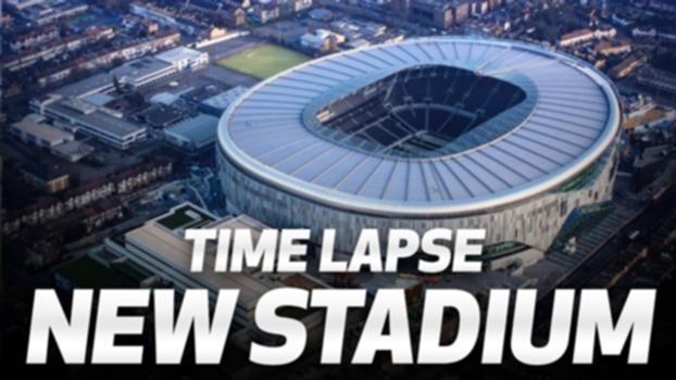 SPURS NEW STADIUM TIME LAPSE | 2016-2019 TRANSFORMATION