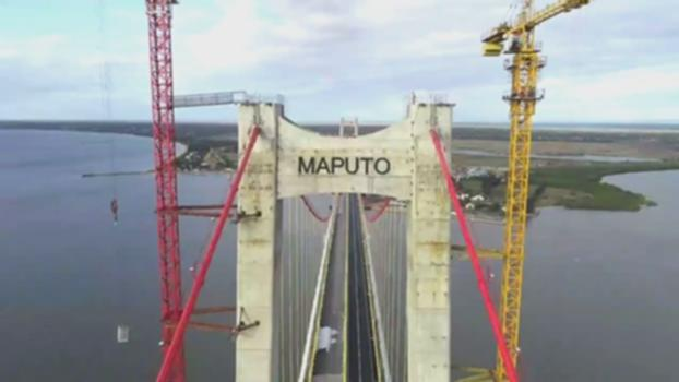 Maputo Bridge——the longest suspension bridge in Africa马普托大桥:Located in Mozambique,680m span Maputo Bridge will become the longest suspension bridge in Africa,built by China Roads and Bridges Corporation (CRBC): http://www.worldconstructionnetwork.com/features/the-maputo-catembe-bridge-the-longest-suspension-bridge-in-africa https://en.wikipedia.org/wiki/Maputo%E2%80%93Katembe_bridge