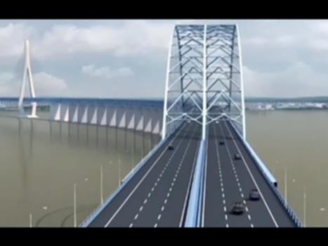 World's largest cable-stayed rail-road bridge | CCTV English : China is building the world's longest rail-road steel arch bridge: Hutong Yangtze River Bridge. Expected to be completed in 2019, the unique cable-stayed design of the main channel will make the bridge the world's longest cable-stayed rail-road bridge.  【Best of CCTV】selects and collects the most popular videos of all CCTV channels.  【Subscribe to CCTV English YouTube Channel】: http://goo.gl/CpzC0H   More CCTV Shows in HD  Chinese Arts and Crafts:https://goo.gl/Mc3VoM  Tibet Short Documentaries:https://goo.gl/V2LYmn  My Life My China:https://goo.gl/iHoHk7  Meet the Diplomats:https://goo.gl/JpbwuZ  Looking China:https://goo.gl/Cc8EHw  The Forbidden City 100:https://goo.gl/5KNwQz  Spectrum Asia:https://goo.gl/Cmh6dA  Closer to China with R.L Kuhn:https://goo.gl/vJUl3S  Travelogue:https://goo.gl/WqoDcw  My China:https://goo.gl/5YrQe2  Crossover:https://goo.gl/R1I0Td  Dialogue:https://goo.gl/FUYheE  The Heat:https://goo.gl/ApY141  Full Frame:https://goo.gl/9KNIzU  CCTV News by CCTV America:https://goo.gl/OdSvau  The Great Challenge:https://goo.gl/sKqqoT   【Subscribe to CCTV English YouTube Channel】:http://goo.gl/CpzC0H   Follow and Like us on   Facebook:https://www.facebook.com/cctvcom  Twitter:https://twitter.com/CCTV  Instagram:http://instagram.com/cctv   Subscribe to more official YouTube channels  CCTV Gala:http://goo.gl/A9V00o  CCTV 4:http://goo.gl/HcZaeZ  CCTV:https://goo.gl/gYT8W8  iPanda:http://goo.gl/jHLOia