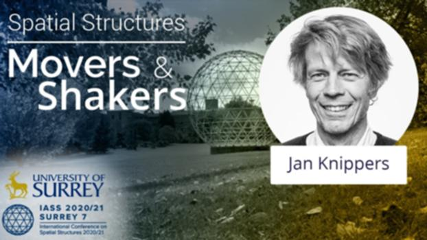 'Spatial Structures; Movers and Shakers' - with Jan Knippers : In our latest 'Spatial Structures; Movers and Shakers' interview, we speak with Professor Jan Knippers who is a structural engineer and head of the Institute for Building Structures and Structural Design (ITKE) at the University of Stuttgart.  Website: https://www.surrey.ac.uk/iass2021   LinkedIn: Spatial Structures 2020/21 Twitter: @structures2021  Instagram: spatialstructures2020_21 Facebook: spatialstructures2020.21 Introductory Music by James Richardson #IASS2020_21 #IASS #MoversandShakers #Interview #SpatialStructures #Architecture #ReciprocalFrames #Conference #Surrey #MoversandShakers #IASS2020 #IASS2021 #StructuralEngineering #Structures #Estructuras #LightweightStructures #EstructurasLigeras #Design #EstructurasEspaciales #Diseño #Construction #Entrevista #Construcción #Mexico #England #UK #Spain #US #Japan #Tension Structures #Form #FormFinding #Engineering #Ingenieria #CivilEngineering