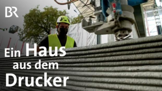 Neue Bautechnik: Wohnhaus aus dem 3-D-Drucker | Gut zu wissen | BR : Mit neuer Bautechnik werden Wände mit einem 3-D-Drucker hochgezogen, indem frischer Beton in Wülsten aufeinandergepresst wird. Die übliche Betonbau-Schalung fällt weg, das spart Material und Zeit. Das erste Wohnhaus aus dem 3-D-Drucker entstand in Beckum. Nun wird im bayerischen Weißenhorn Europas größtes Mehrfamilienhaus gedruckt. Aus der TV-Sendung vom 14.11.2020  Mehr Gut zu wissen in der BR Mediathek: https://www.br.de/mediathek/sendung/gut-zu-wissen-av:5a5392bfd92d10001c0270ea #Haus #Technik #GutzuWissen