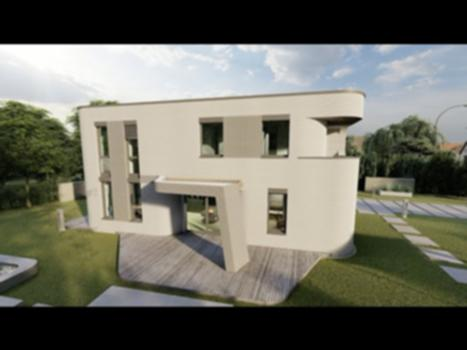The Most Innovative 3D Printed House In The World [Mense-Korte] : Architecture firm Mense-Korte has done an incredible job exploring uncharted territory with this design printed by a Cobod BOD 2 in concrete. Let's dive into the details of this build and examine some of the design choices they made that make this project so unique and before its time. I would imagine after completing this project there are many new things Mense-Korte and Cobod are planning on trying next! Want to see a virtual 360 tour of all the places I visit and support my journey? Sign up for the Virtual Village of 3D Printed Houses at https://automate.construction/signup WARNING: This video is not intended for those with short attention spans. Go watch tiktok or something if you want to skip the nitty gritty real world details of implementing automation on a construction site. Proceed only if you have an interest in cutting edge technology that could change construction.  Book a 1hr Consulting Call With Me!  https://jarettgross.youcanbook.me Interview with COBOD CEO: https://www.youtube.com/watch?v=zsfLK4YzjKg https://mense-korte.de/ https://cobod.com/ https://automate.construction I've recently put out a video on my YouTube channel about the most innovative 3D printed house in the world. Of course every 3D printed house at this stage of the industry is innovative but the consideration in design and architecture that went into this project demonstrates a new level for digital fabrication of shelter.  Mense-Korte is the architecture firm behind this project and COBOD manufactured the 3D printer that was used. There was certainly an extensive education process to clearly illustrate the capabilities of the concrete printer to the architects. Mense-Korte brought outside the box thinking and detail oriented German engineering to the table. The longstanding debate of offsite vs onsite printing has been answered on this project that marries the benefits of both to compensate for some of the limitations