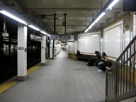 103rd Street Subway Station (Broadway – Seventh Avenue Line)