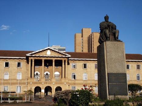 Kenyan Parliament Buildings