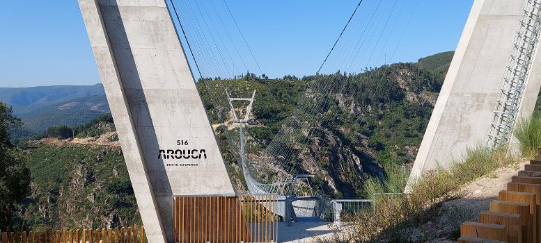 Accès au pont 516 Arouca