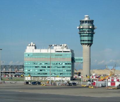 Tour de contrôle de l'aéroport de Chek Lap Kok