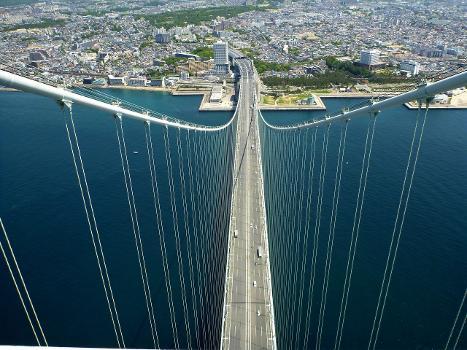 Akashi-Kaikyo Bridge in Hyogo