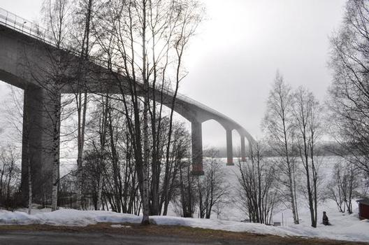 Alnö-Brücke in Sundsvall, Schweden