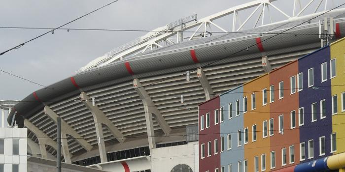 Johan Cruijff ArenA, outside view, south stand, detail