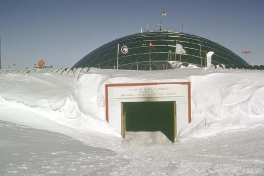 Amundsen-Scott South Pole Station.