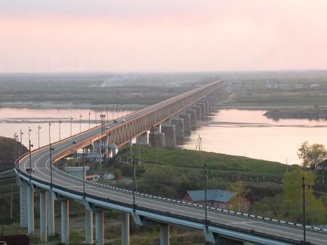 Nouveau pont sur l'Amour