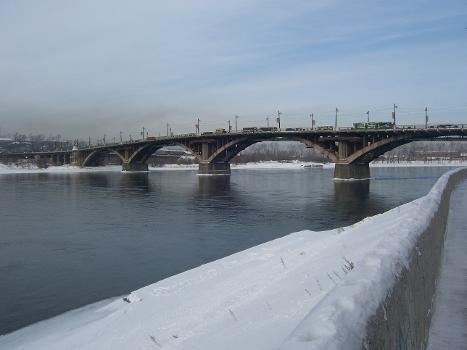 Angara River Bridge